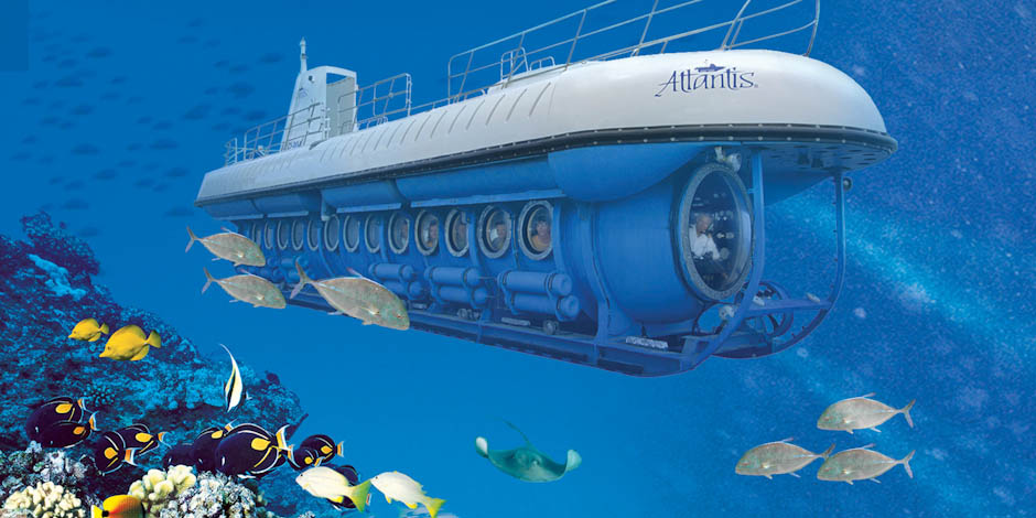 Atlantis Submarine Adventures Waikiki Beach Activities